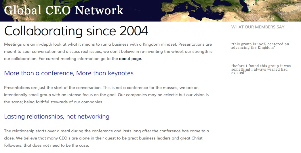 Global CEO Network image
