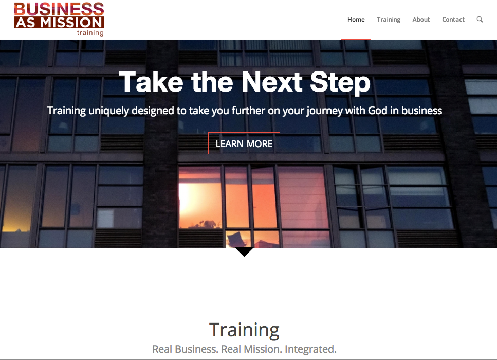 BAM Training website