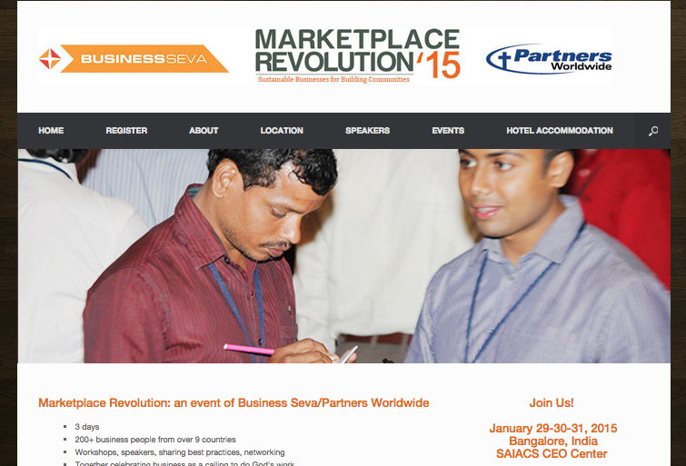 Event: Marketplace Revolution India Jan 2015